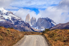 National Park in southern Chile Royalty Free Stock Photo