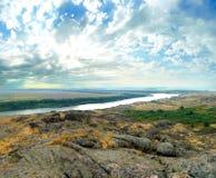National Park ` Stone Tombs `. Donetsk. Ukraine Royalty Free Stock Photography