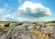 National Park ` Stone Tombs ` Royalty Free Stock Photos
