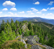 National park Sumava - Czech Republic Stock Photo