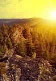National park Sumava in Czech Republic Stock Photo