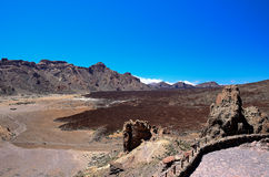 National Park Teide Stock Images