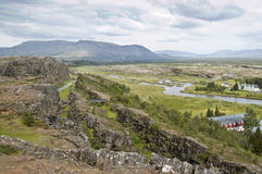 National Park of Thingvellir (Iceland) Stock Photo