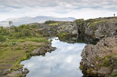 National Park of Thingvellir (Iceland) Stock Photography