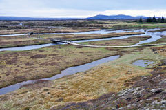 National park Thingvellir Stock Image