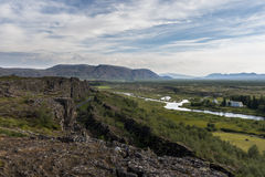 National Park Thingvellir in Iceland Stock Photos