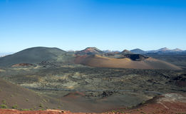 National park Timanfaya Royalty Free Stock Image