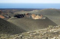 National park Timanfaya Stock Photo