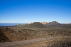 National park Timanfaya Stock Image