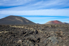 National park Timanfaya Royalty Free Stock Photo