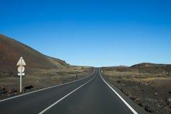 National park Timanfaya Royalty Free Stock Images