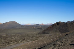 National park Timanfaya Stock Photography