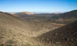 National park Timanfaya Royalty Free Stock Photo