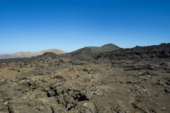 National park Timanfaya Royalty Free Stock Images