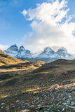 The National Park Torres del Paine, Patagonia, Chile. Beautiful landscape in The National Park Torres del Paine, Patagonia, Chile Stock Image