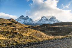 The National Park Torres del Paine, Patagonia, Chile Stock Photos