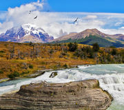 National Park Torres del Paine Stock Photography