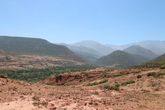 National Park Toubkal in Morocco Royalty Free Stock Photos