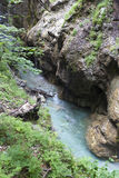 National park Tscheppaschlucht, Carinthia, Austria Stock Images