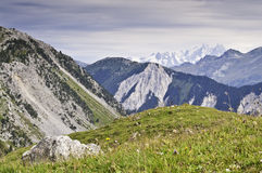 National Park Vanoise. Views from the National Park of La Vanoise Stock Photography
