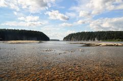 The Shchugor river in the Northern Urals. Stock Photos