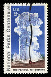 National Parks Centennial Postage Stamp Stock Images