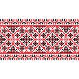 National pattern fabric texture horizontal Stock Photography