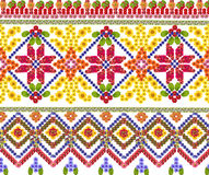 National pattern for the Ukrainian shirt Royalty Free Stock Photos
