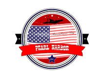 National Pearl Harbor Remembrance Day. Stamp. Stock Photography
