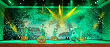 National performance in Tengchong, Yunnan, China Stock Image