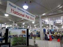 National Pet Walk booth at pet expo Royalty Free Stock Photos