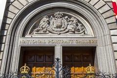 National Portrait Gallery à Londres Photographie stock