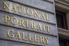 National Portrait Gallery in Londen stock foto's