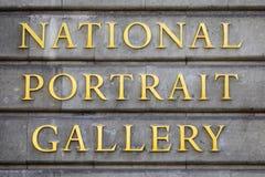 National Portrait Gallery in Londen royalty-vrije stock fotografie