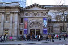 National Portrait Gallery Londen Stock Foto's