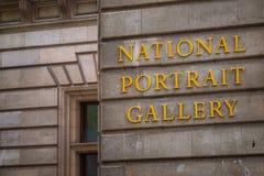 National Portrait Gallery in Londen, het UK royalty-vrije stock fotografie