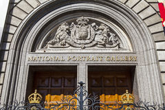 National Portrait Gallery in London Stock Photography