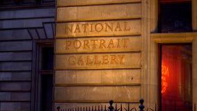 National Portrait Gallery London - LONDON, ENGLAND - DECEMBER 10, 2019