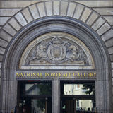National Portrait Gallery à Londres Photo libre de droits