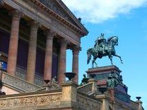 National Portrait Gallery na bankach Rzeczny bomblowanie w Centre Berlinr zdjęcie royalty free