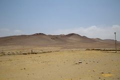 National Reserve von Paracas Peru stockfotografie