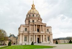 The National Residence of Invalids in Paris Stock Photography