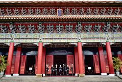 National Revolutionary Martyrs` Shrine. In Taipei, Taiwan, January 3rd, 2018 Royalty Free Stock Images