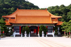 National Revolutionary Martyrs' Shrine in Taipei Stock Photos