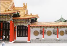 National Revolutionary Martyrs`Shrine Taiwan Stock Photography