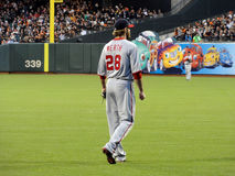 National Right Fielder Jayson Werth stands Stock Image