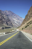 National Road 7 in Mendoza, Argentina Royalty Free Stock Image