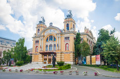 National Romanian Theatre and Opera House in Cluj-Napoca Stock Images