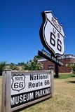 National Route 66 Museum in Elk City, Oklahoma. stock images