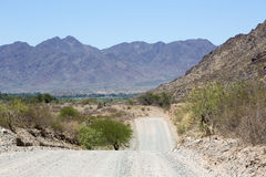 National Route 40 in Northern Argentina Stock Photos